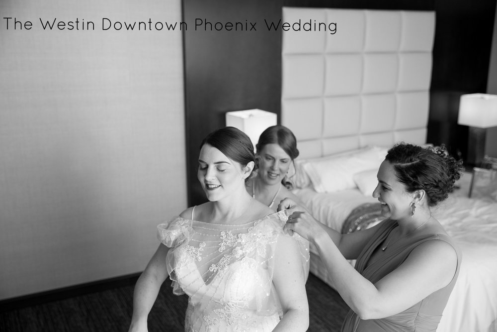 Phoenix Wedding Photography at The Westin Downtown