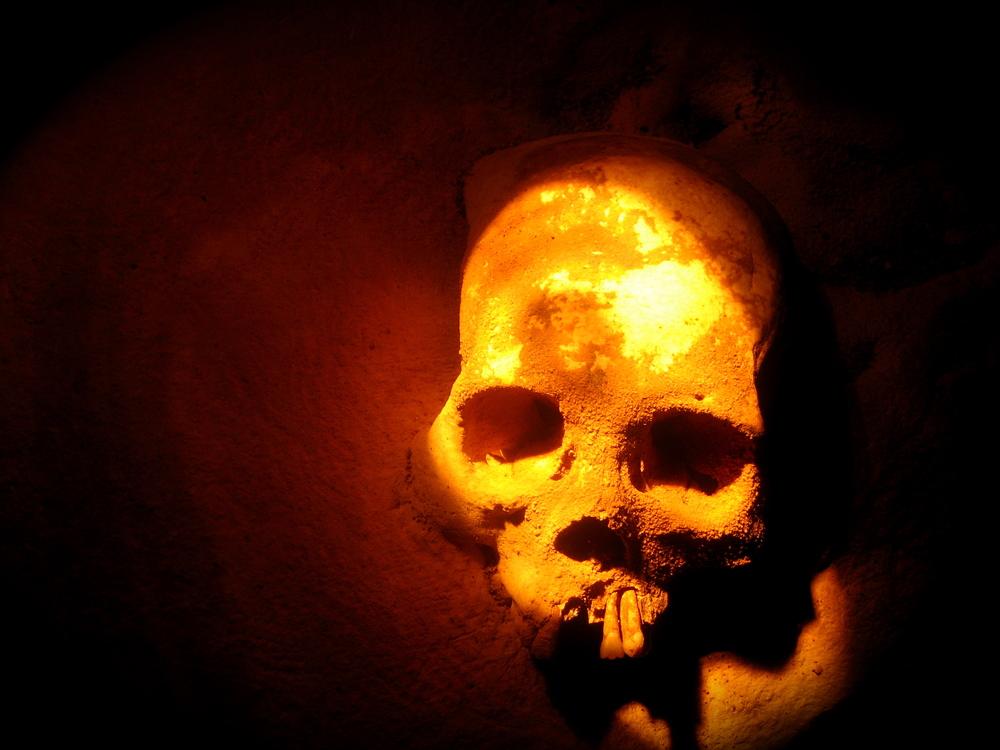 Human Skull, Actun Tunichil Muknal Cave, Belize