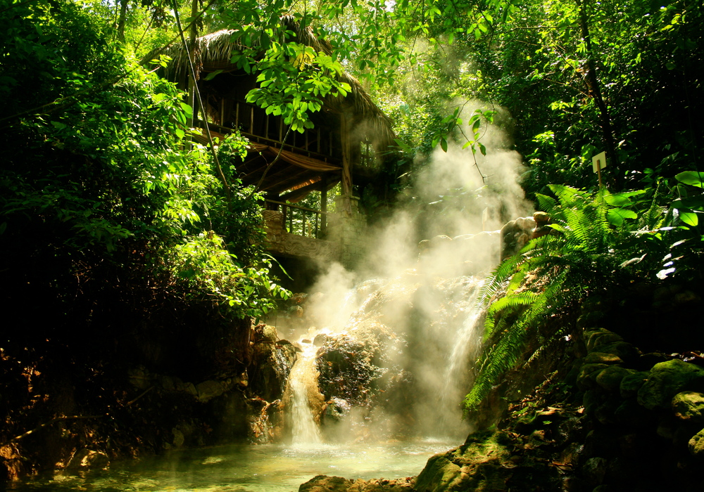 Hot Springs, Copan Ruinas, Honduras