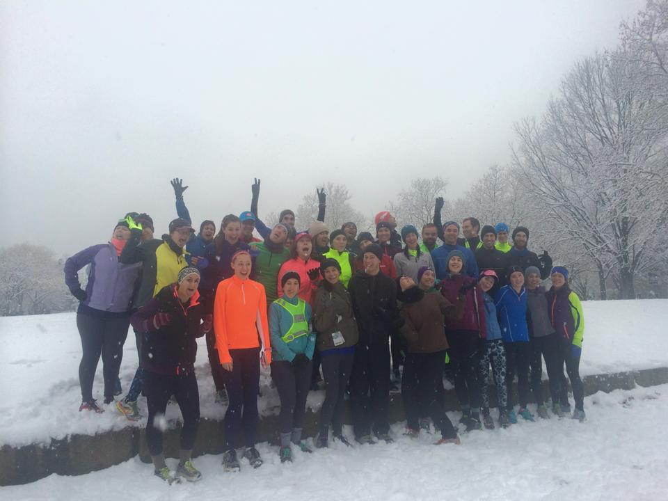 Saturday Welcome Run, January 24, 2015