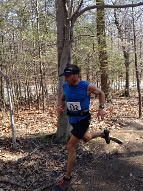 One of the leaders looking strong after almost 2 hours.