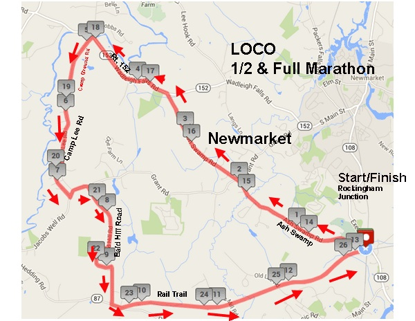 Course map!