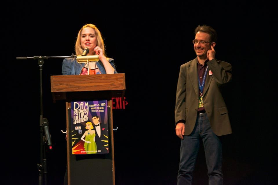 Shannon Lark at the Dam Short Film Festival