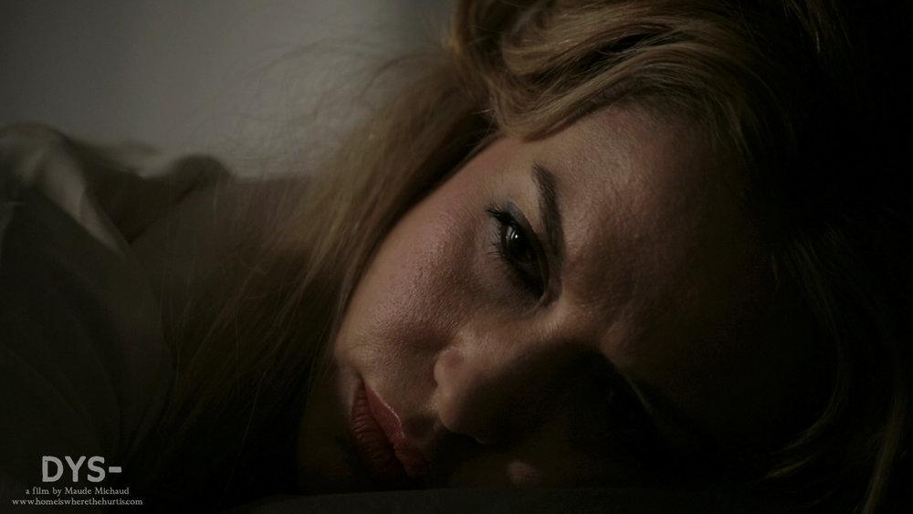 Shannon Lark as Eva.