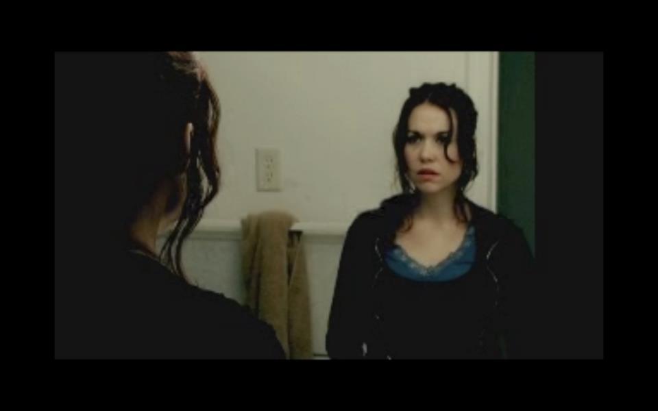 Shannon Lark as Michelle.