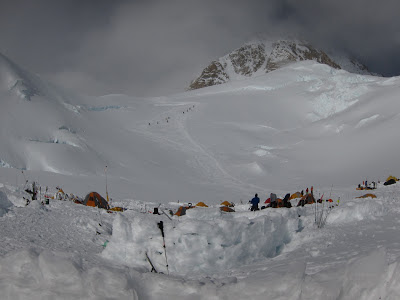 Camp 2- 11,000 feet.