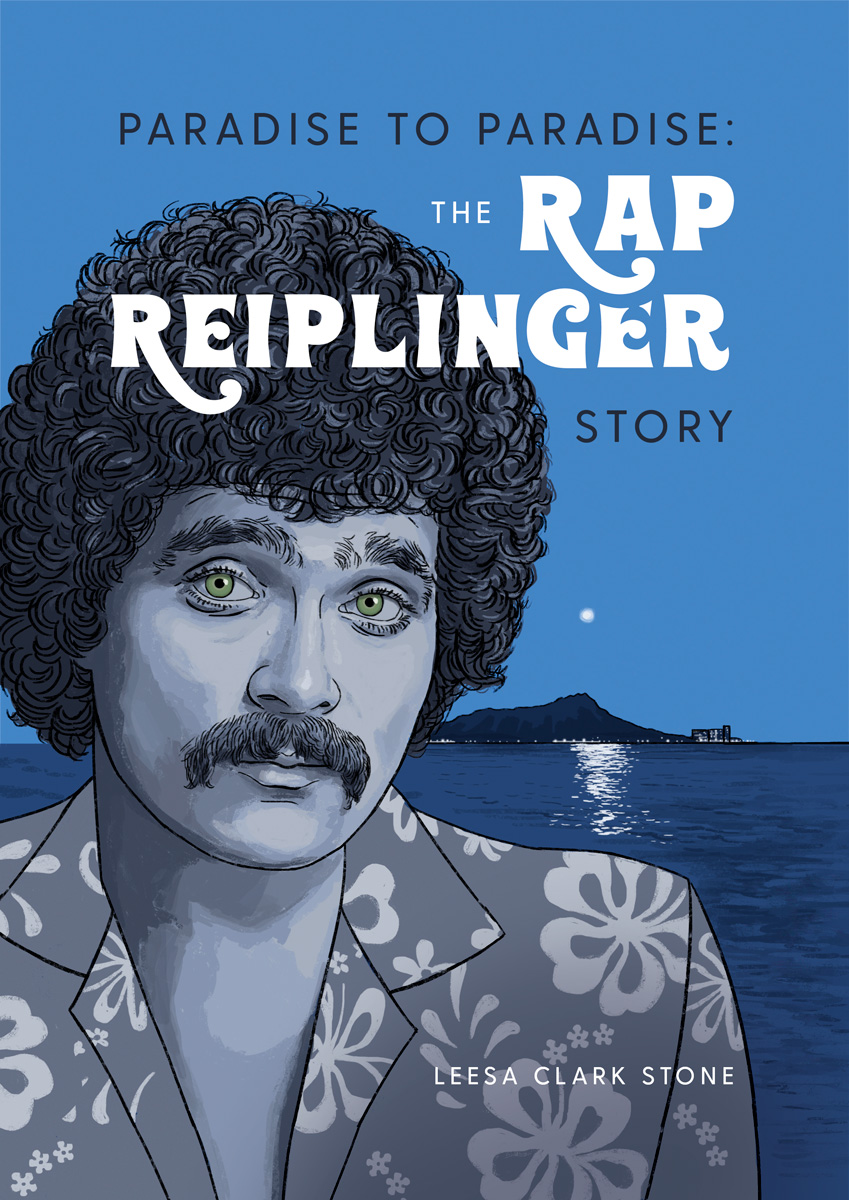 """Paradise to Paradise: The RAP REIPLNGER Story - """"He is the only genius I've ever worked with. In modern terms, he was one of the best profilers. He could walk in, observe and profile something and know exactly what was going on. Then make sense of it, put it into a story and make you laugh.""""—JON DE MELLOCEO, The Mountain Apple Company★""""You know what they say about burning the candle — if you burn it from 12 ends, it gives you a big rush of light. It's like a supernova. That's what Rap was in his short span of years. He really exploded. Made a lot of people happy.""""—DUNBAR W AKAYAMARecording Engineer★""""In my mind, Rap's comedy is foundational and the content of his work, not just his performance, will stand the test of time.""""—ERIC JOHNSONHonolulu Theatre for Youth Artistic Director★The New Yorker magazine called Rap, """"Hawaii's most popular comedian. . . in the tradtion of Mort Sahl and Lenny Bruce."""" Rap was the first in Hawai'i to win an Emmy award, when his television show, Rap's Hawaii earned the honor for Outstanding Acheivement/Entertainment Special."""