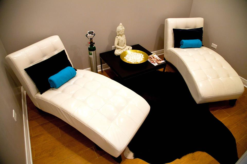Want some peace and quiet while you rejuvenate?   Private spaces available for you to hydrate.   Learn More