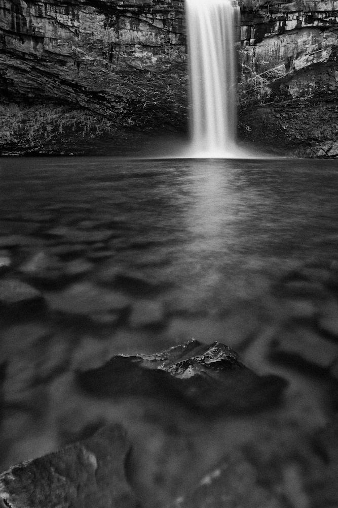 Foster Falls Waterfall, South Cumberland Recreation Area, Tennessee