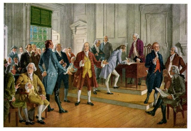 Debate during the Second Continental Congress