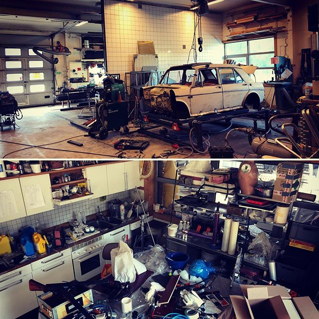 controlled workshop chaos #panoramasfx  #specialeffekter #specialeffects #sfx #panoramaworkshop
