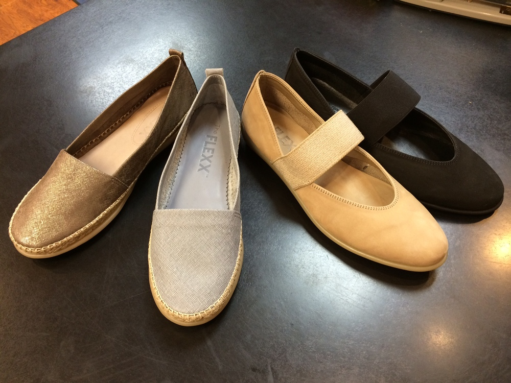 Barefoot summer flats all on sale for $69.90, down from $99!