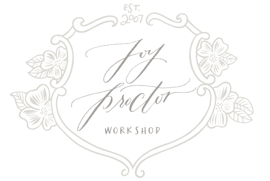 the Joy Proctor Workshop