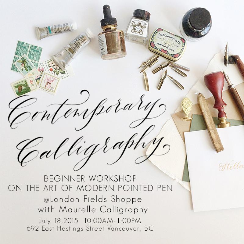Blog Maurelle Calligraphy And Design