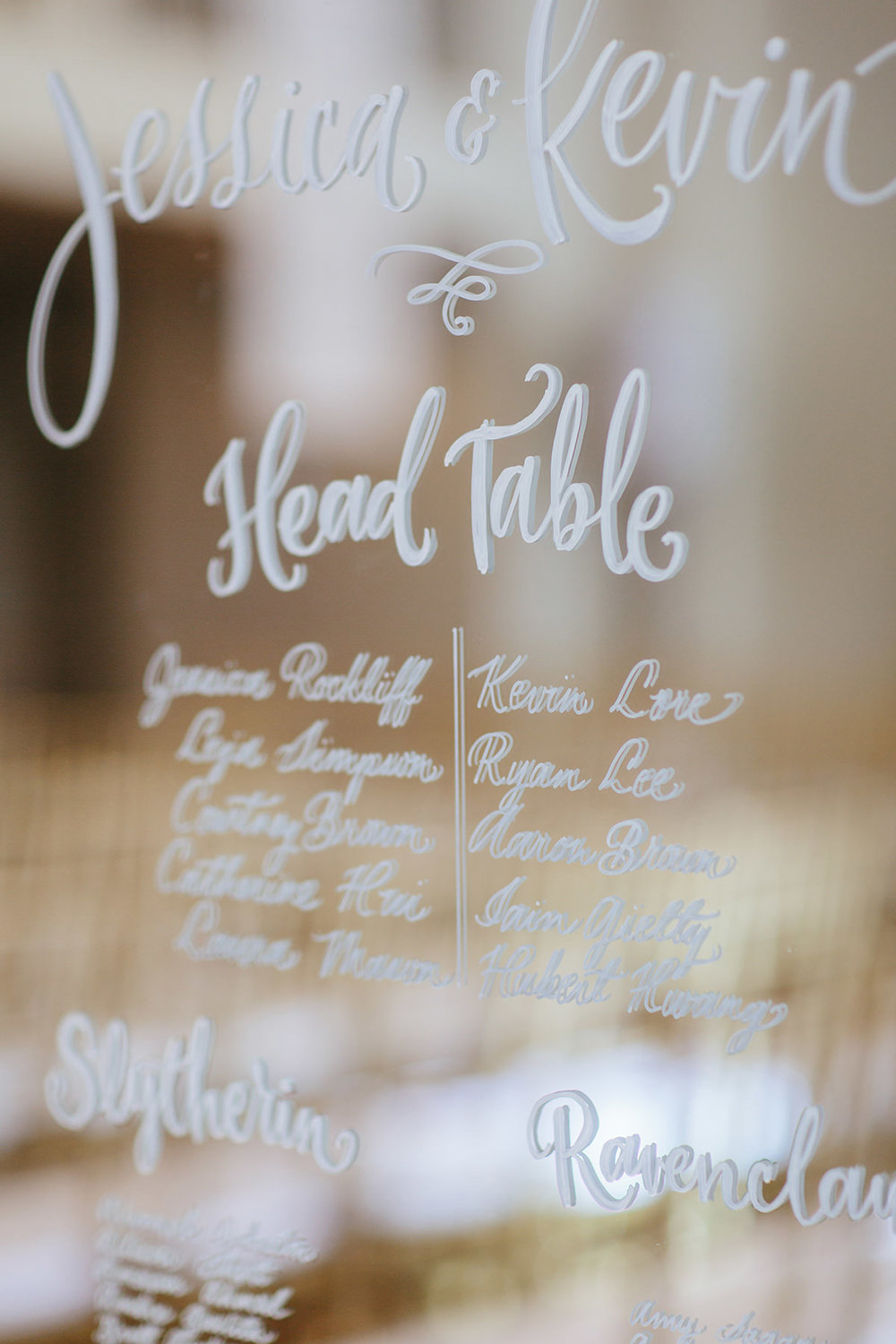 Seating Charts & Signages -