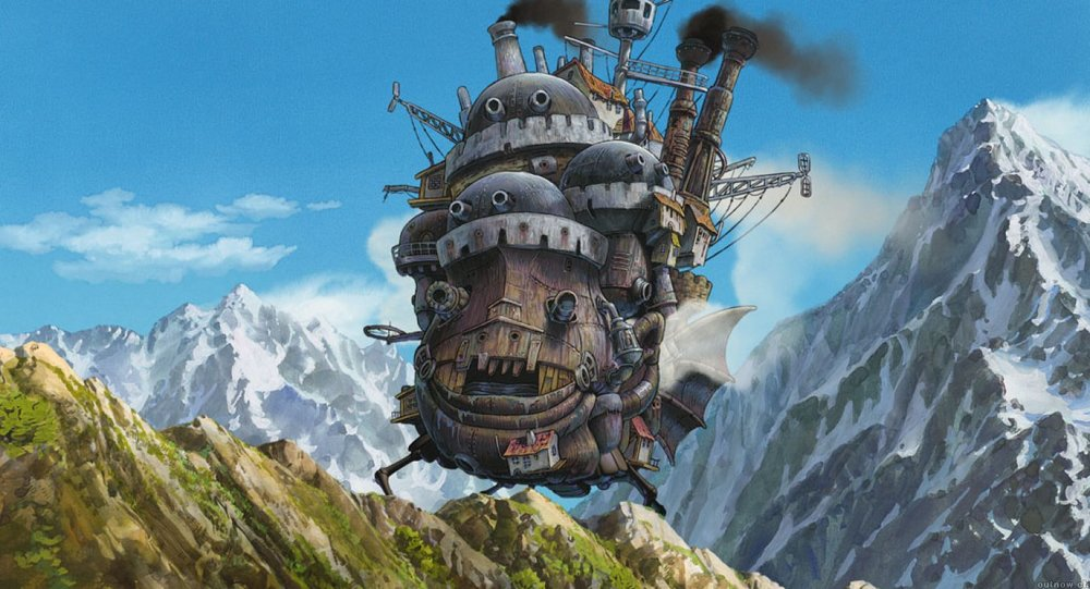 from Miyazaki's Howl's Moving Castle