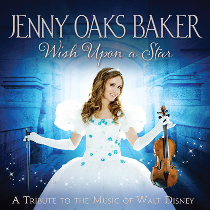 Grammy Nominated album cover for Wish Upon a Star by Jenny Oaks Baker