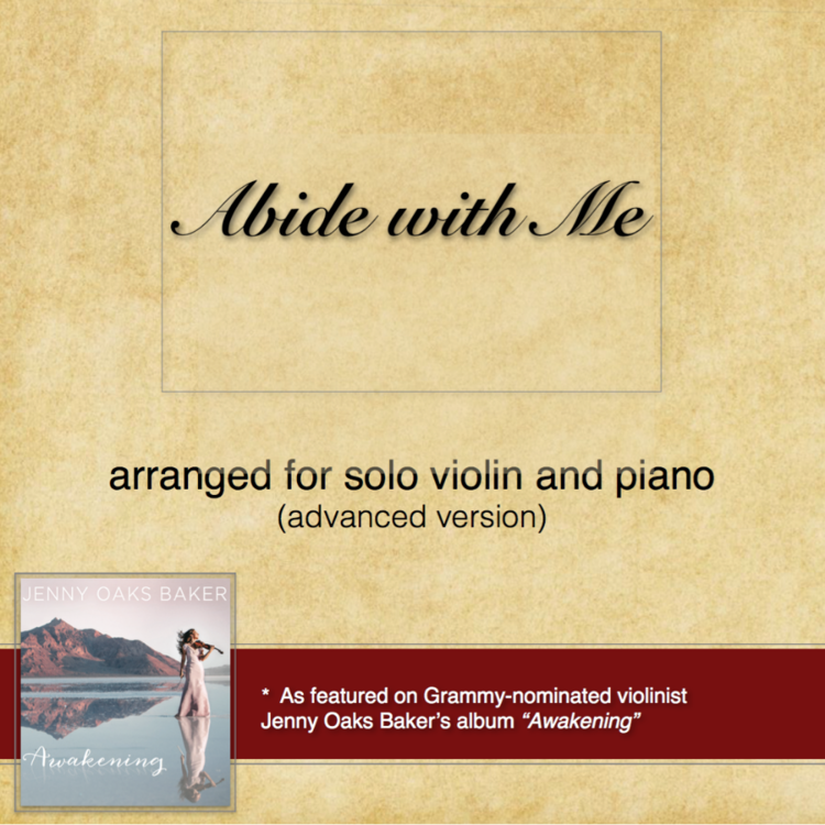 Abide with Me (Advanced) Sheet Music — Jenny Oaks Baker