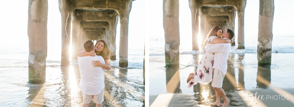 Manhattan Beach Engagement