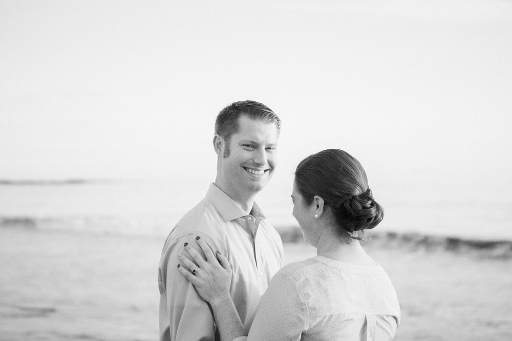 Abalone Cove Engagement Photo