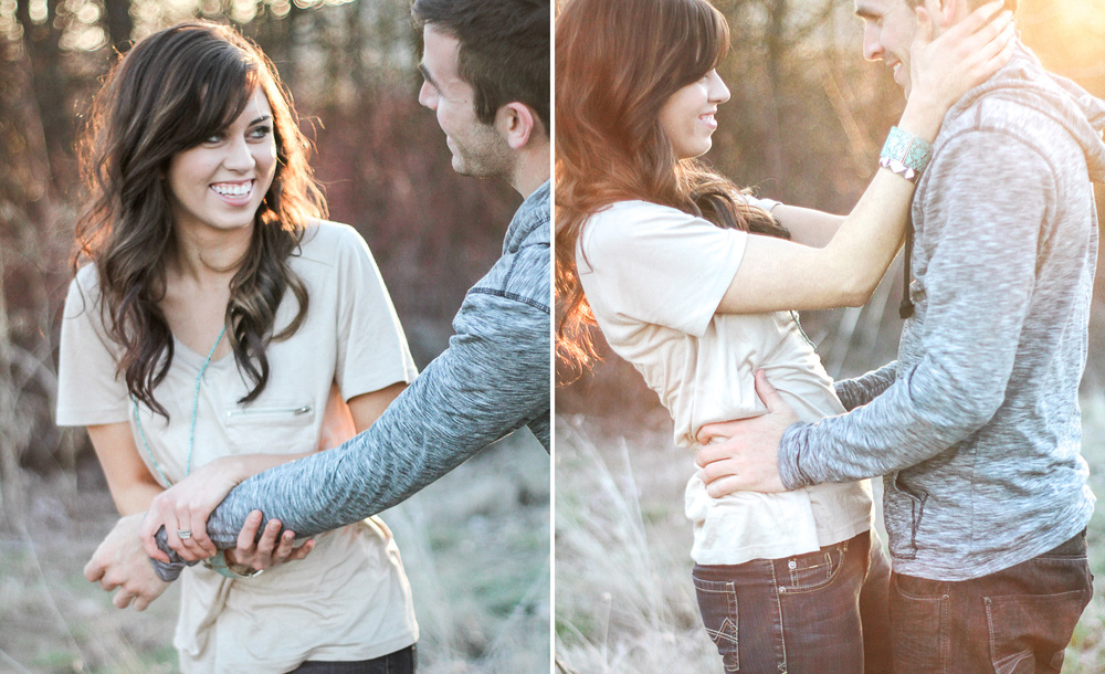 Boise Foothills Engagement