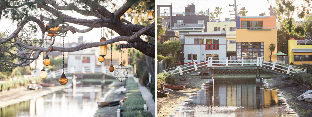 J. Lee Photos Venice Canals Engagement