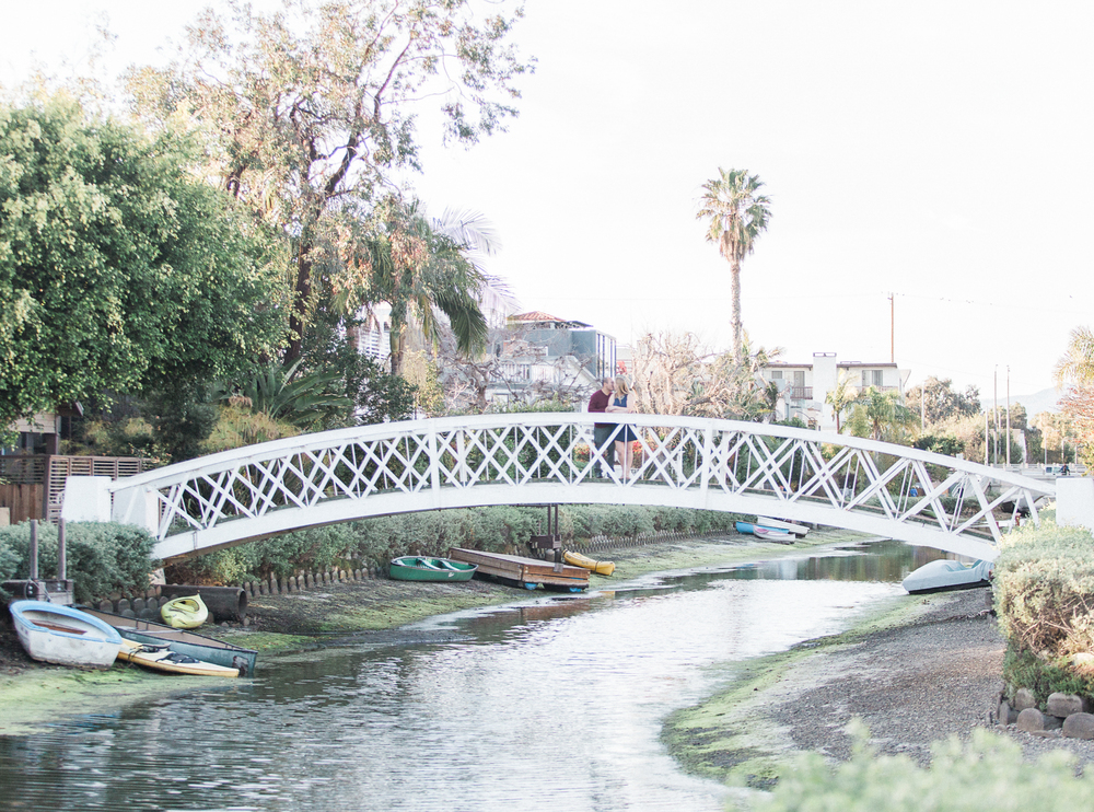 J. Lee Photos Venice Canals Engagement Photos