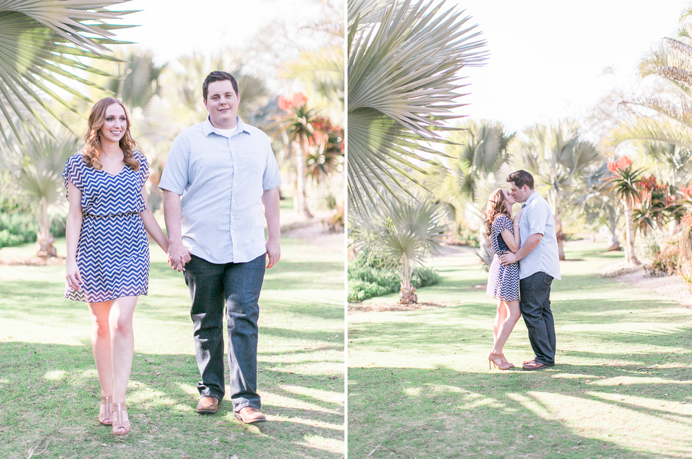 LA Arboretum Engagement Photos