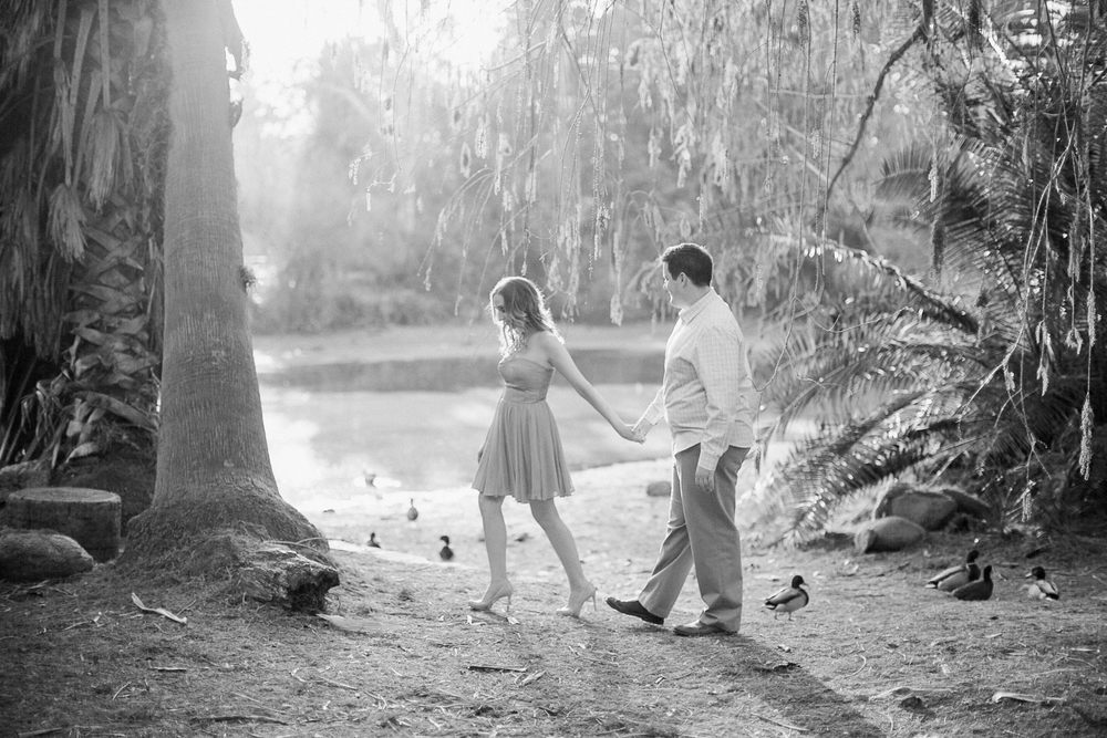 LA Arboretum Engagement Photo