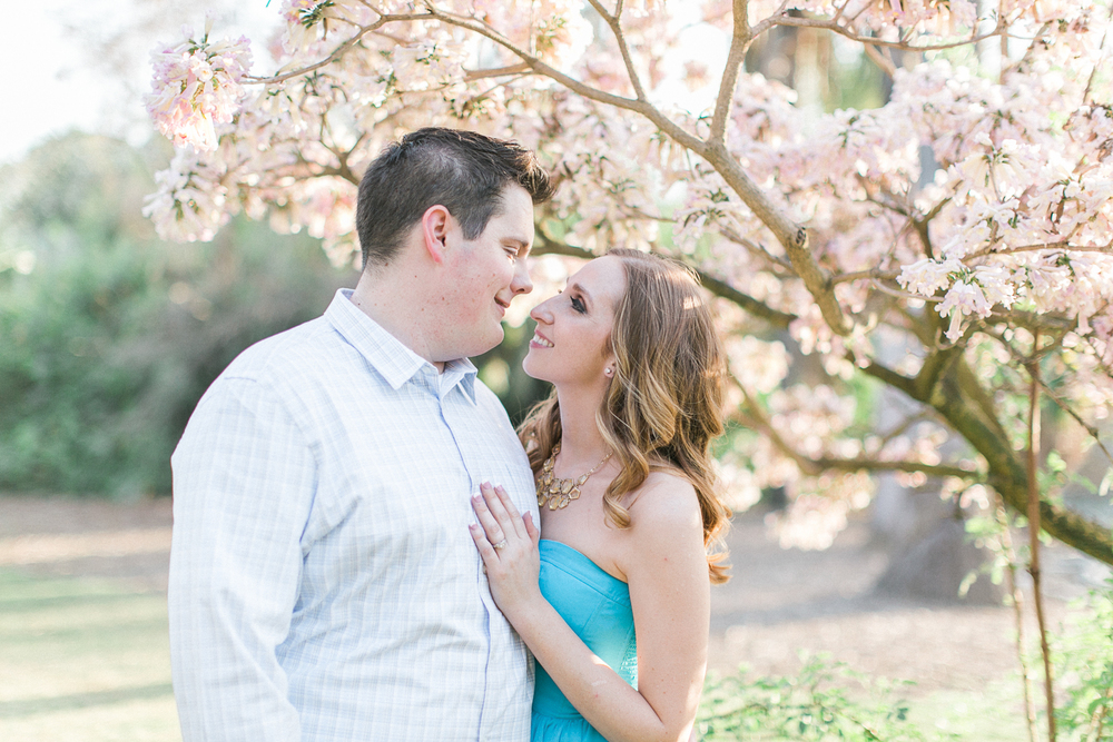 LA Arboretum Engagment Photo
