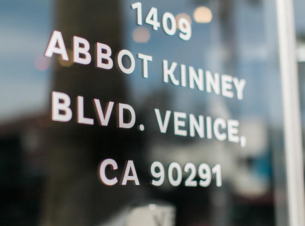 Abbot Kinney Blvd.