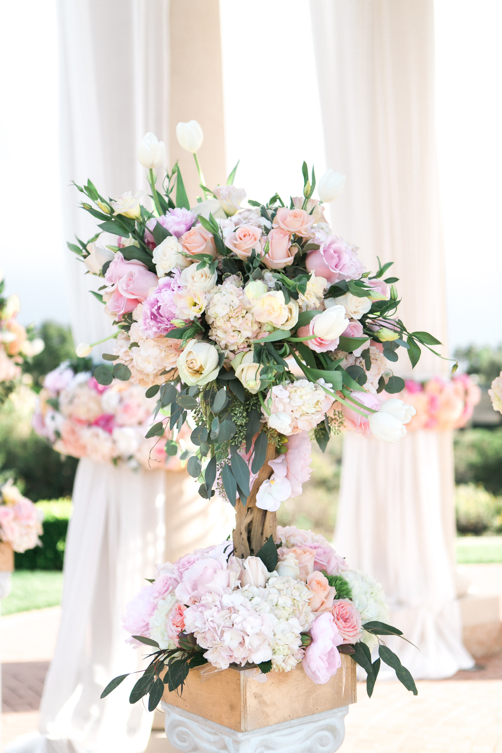 Pelican Hill Wedding Flowers