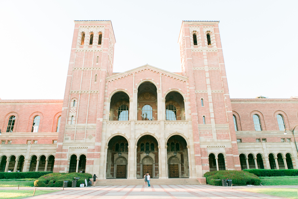Royce Hall UCLA Engagement Photos