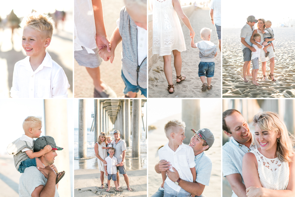 Huntington Beach Family Photos