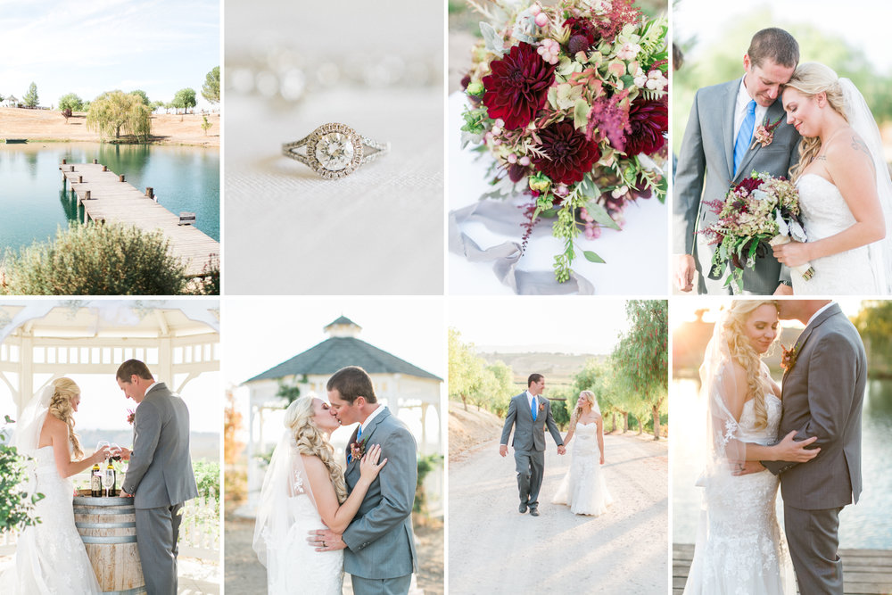 Paso Robles Vineyard Wedding