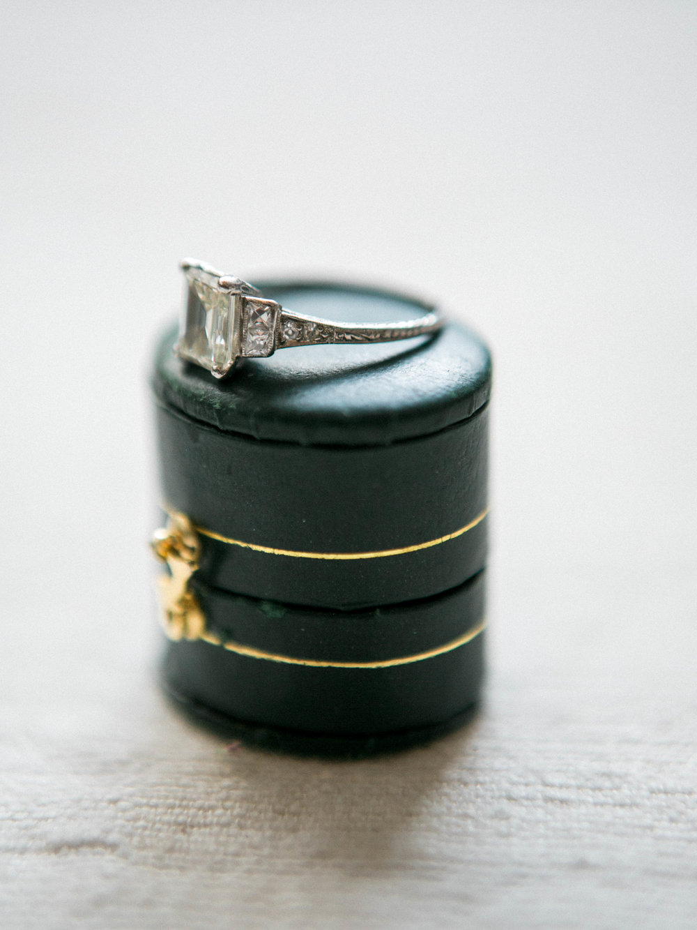 Trumpet and Horn Engagement Ring - www.jleephotos.com