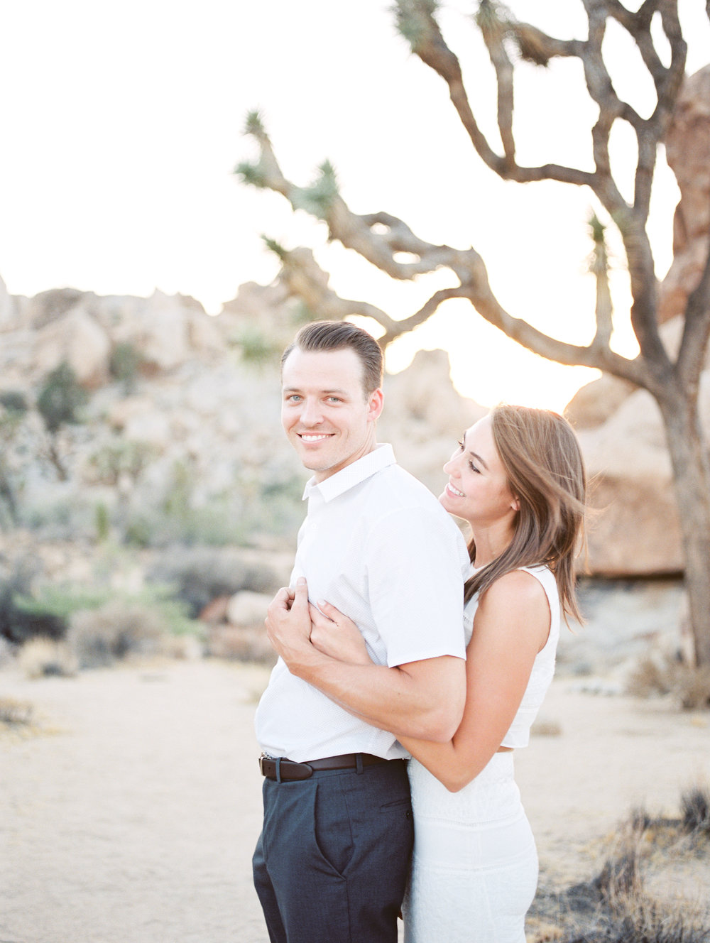 Nick + Stephanie - Joshua tree, california