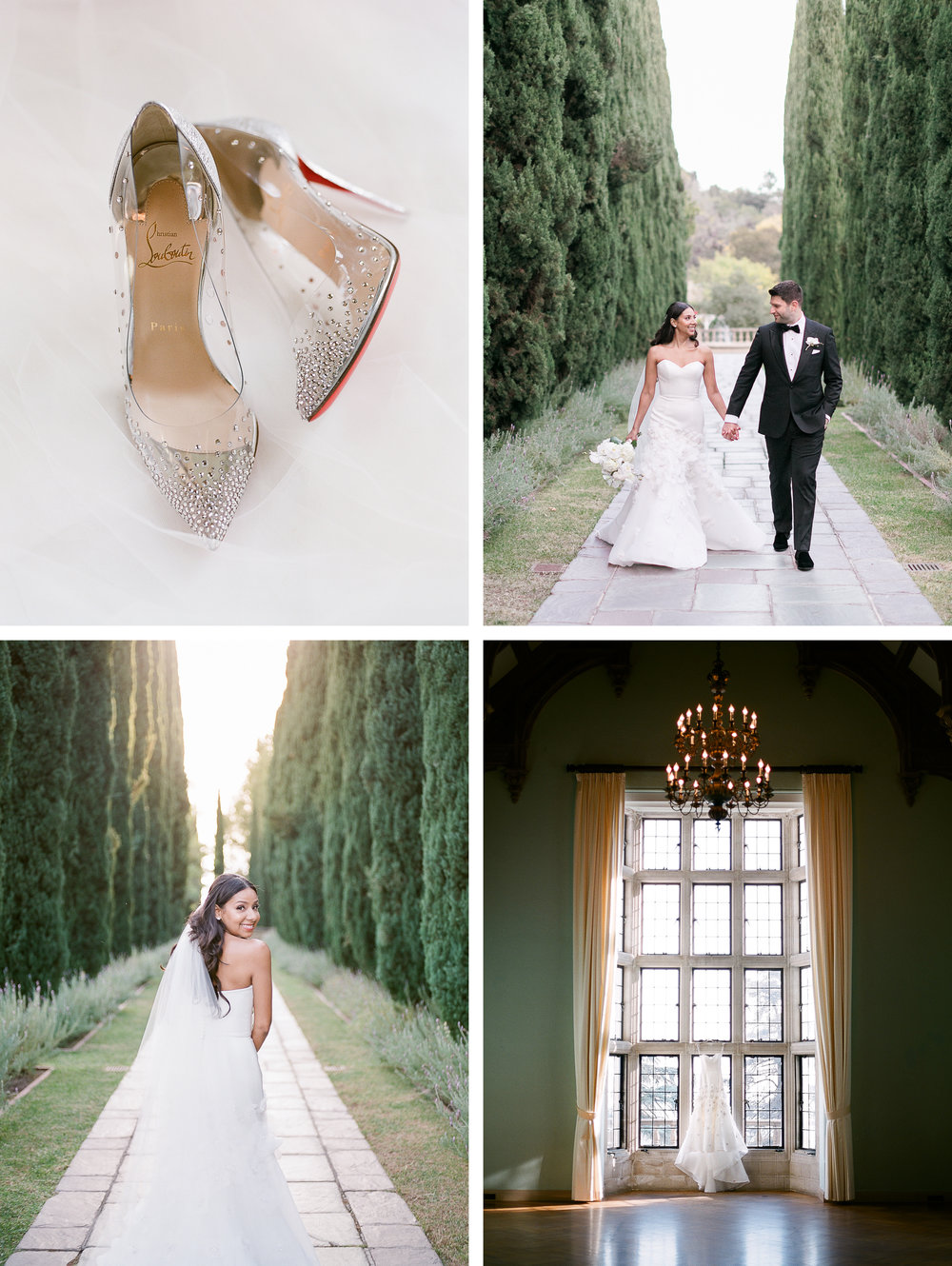 BEVERLY HILLS WEDDING AT GREYSTONE MANSION - Patti + mario