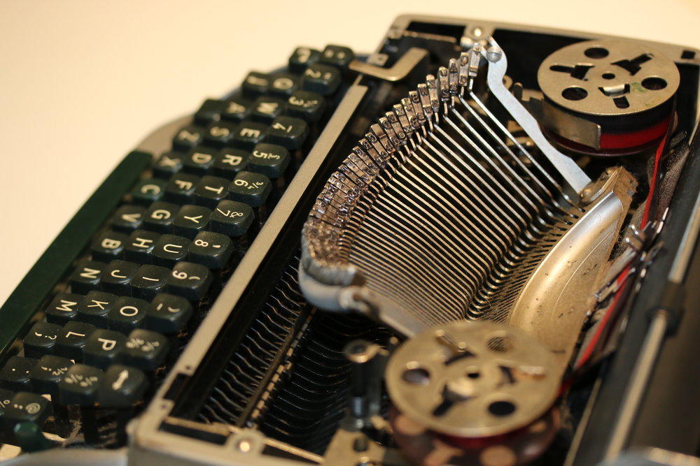 examination of typewriters and typewritten documents