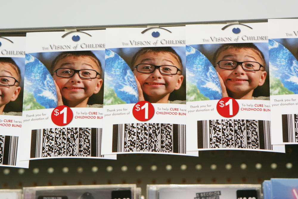 VOC donate cards at walgreens