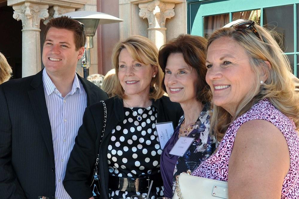 Chase Hardage, Carol Puckett, Liz Wolfe, Sue Higgins