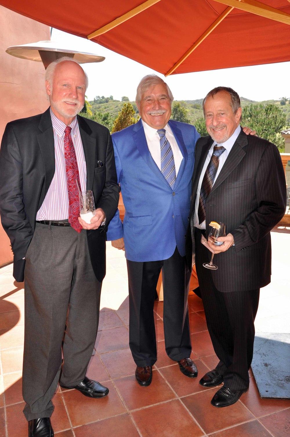 Vincent Andrunas, Dieter Kuster, Dennis Sciotto