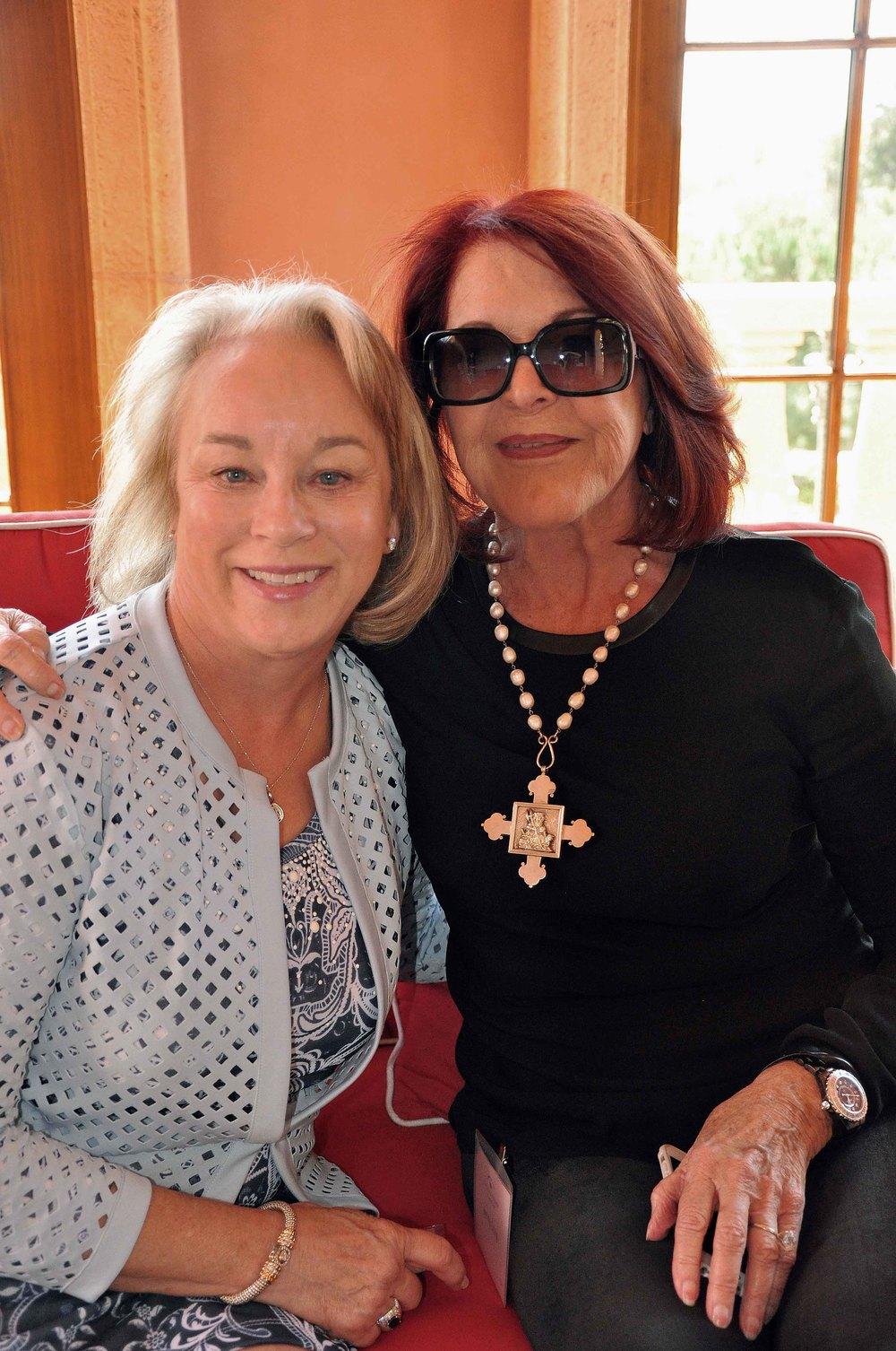 Wanda Garner and Jenny Craig