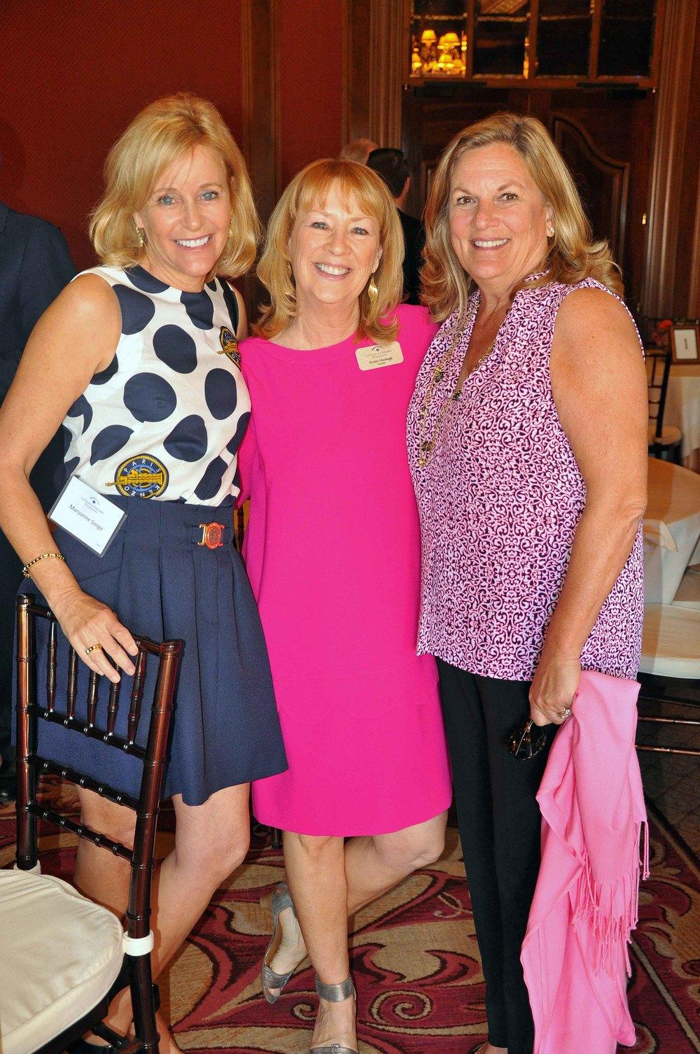 Maryanne Sorge, Vivian Hardage, Sue Higgins