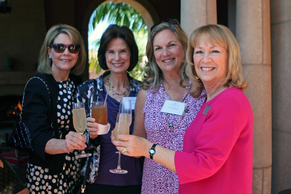 Carol Puckett, Liz Wolfe, Sue Higgins, Vivian Hardage