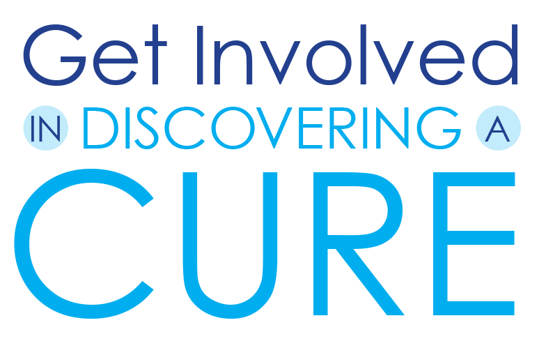 get involved in discovering a cure