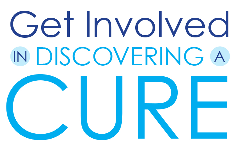 get involved in discovering cures