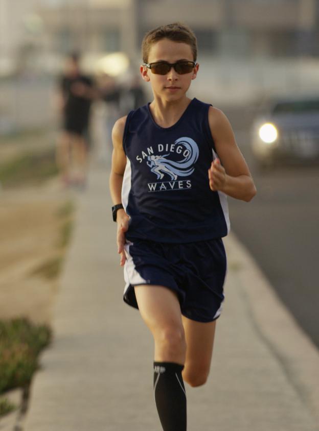 Joel running