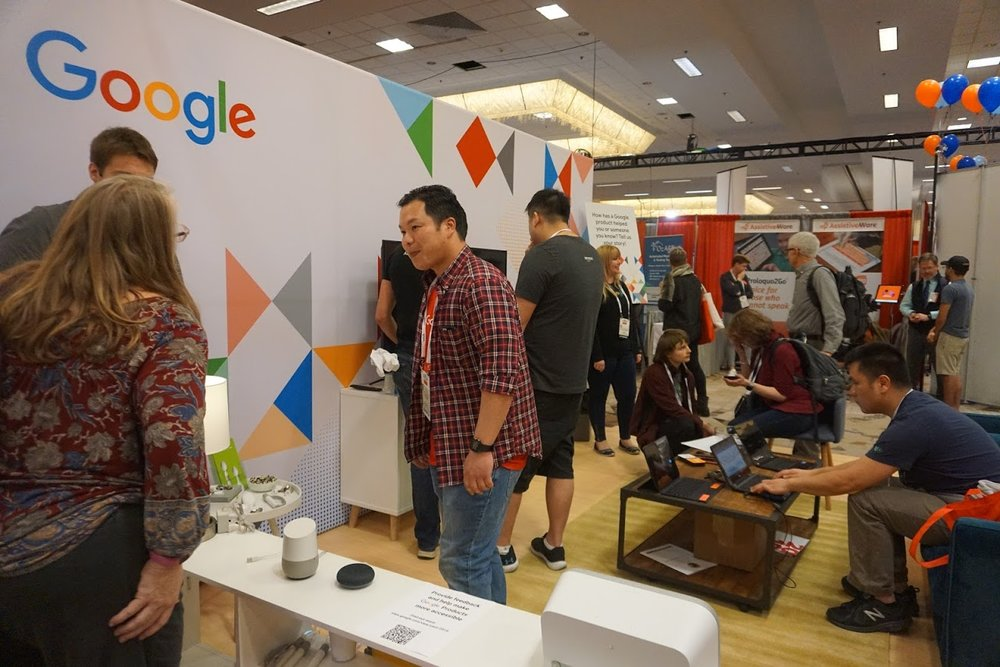 Picture of Google Booth