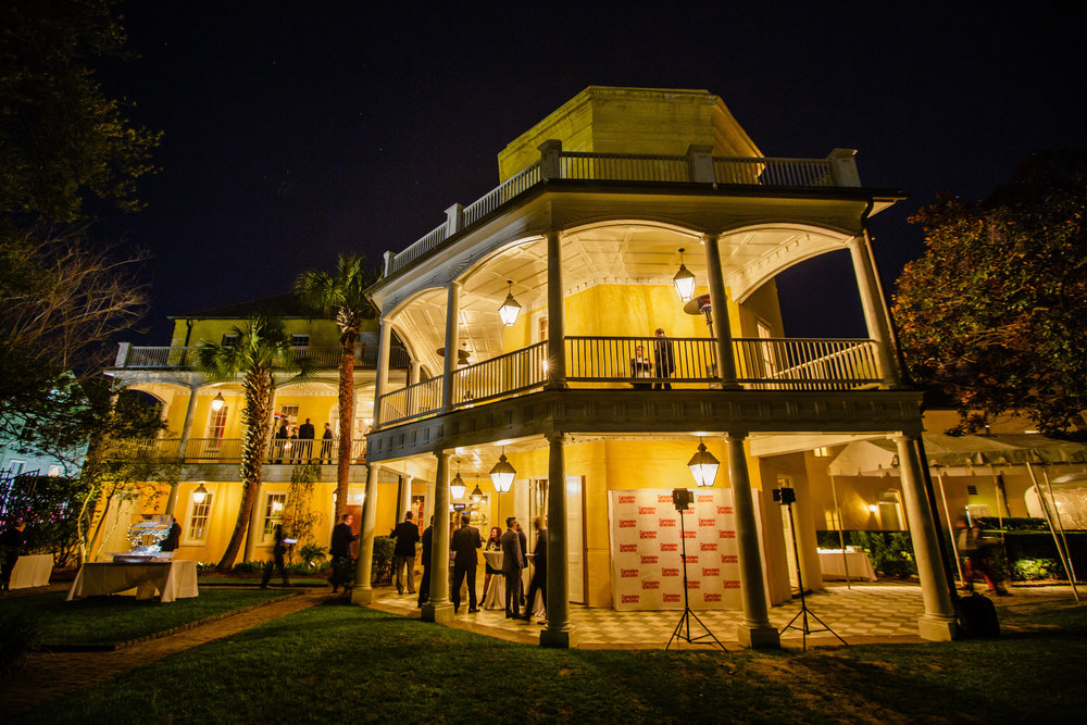Reed Awards reception at the historic William Aiken House in Charleston, SC.